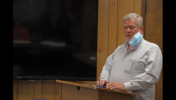 APPOINTED— John Handeland was appointed to be Nome's interim mayor during last Monday's Common Council meeting.