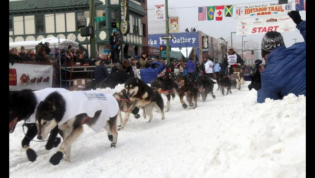 Iditarod participants must be vaccinated in the 2022 race.