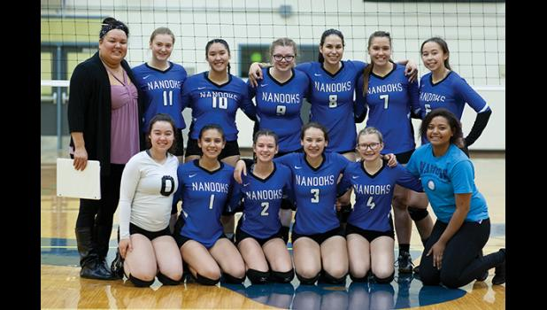 THE CHAMPIONS— The Lady Nanooks were victorious in last week's tournament in Utqiagvik.