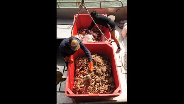 The NSEDC will not be buying red king crab this year.