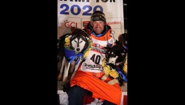 2020 Iditarod Champion Thomas Waerner