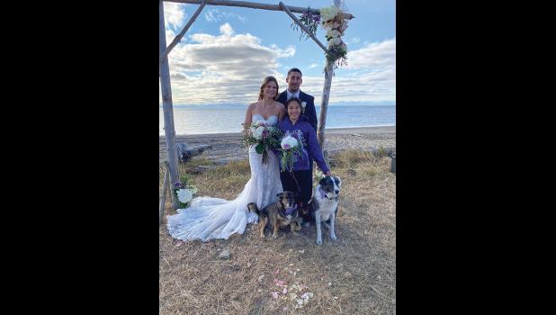 Richelle Horner and Tommy Stasenko wedding