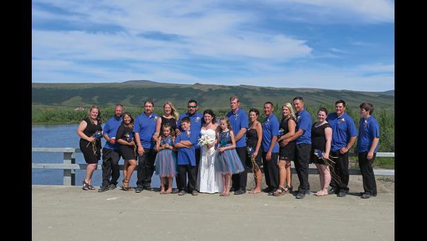 WEDDING BELLS— Trevor Miller and Becky Ensing.