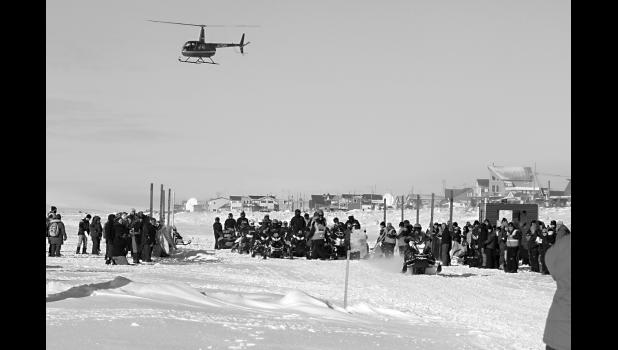 NOME GOLOVIN— The Nome Golovin snowmachine race starts on Saturday at noon at the sea ice in front of Nome.