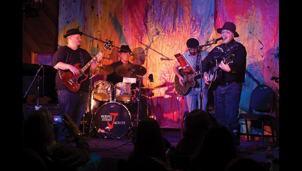 HAPPY BIRTHDAY— Bering Strait Jackets performed last Saturday at the Nome Arts Council's Open Mic Night. The Arts Council celebrates its 45th birthday this year.