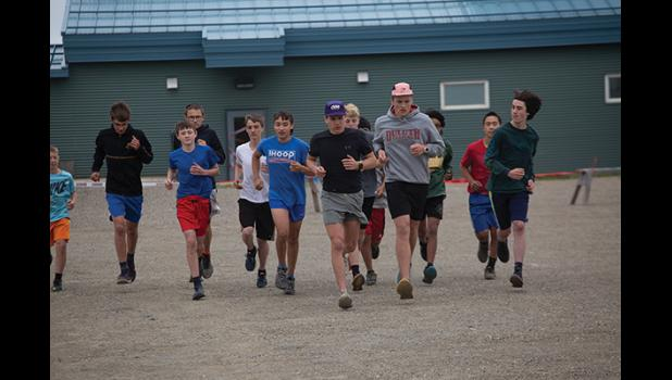 XC running practice began last week at Nome-Beltz.