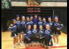 WINNING TEAM— Nome cheerleaders won last week's State Championships in Anchorage. They are: Mackenzie Goodwin, Minnie Clark, Anna Peterson, Talia Cross, Maya Coler, Emily Pomrenke, Kelsie Crisci, Erin Johanson, Courtney Merchant, Kelly Lyon, Ellie Martinson, Ava Earthman, Madison Johnson and JJ Marble.
